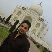 1 st Time at TAJ MAHAL