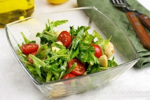 Салат из рукколы рецепт фото
