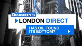Has Oil Found Its Bottom?