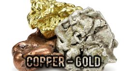Copper, Gold And Silver